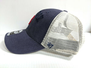 Boston REd Sox 47 Brand Cap Adjustable Snapback Mesh MVP Hat MLB