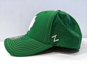 Notre Dame Irish Cap Zephyr Aperature Stretch Fit Fitted Hat NCAA