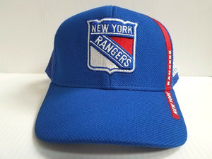 New York Rangers Cap Adidas Mesh Adjustable 2018 Official NHL Hat
