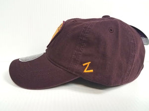 Arizona State Sun Devils Cap Zephyr Adjustable Unstructured Strummer Dad Hat