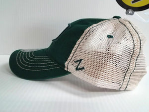 Michigan State Spartans Cap Zephyr Adjustable Mesh Snapback Trademark Truck Hat