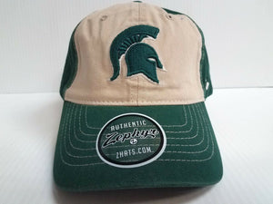 Michigan State Spartans Cap Zephyr Adjustable Strapback Moab Dad Hat