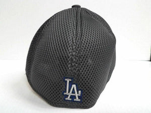 Los Angeles Dodgers Cap New Era 39Thirty Stretch Fit Fitted Hat Grayed Out 2 Neo