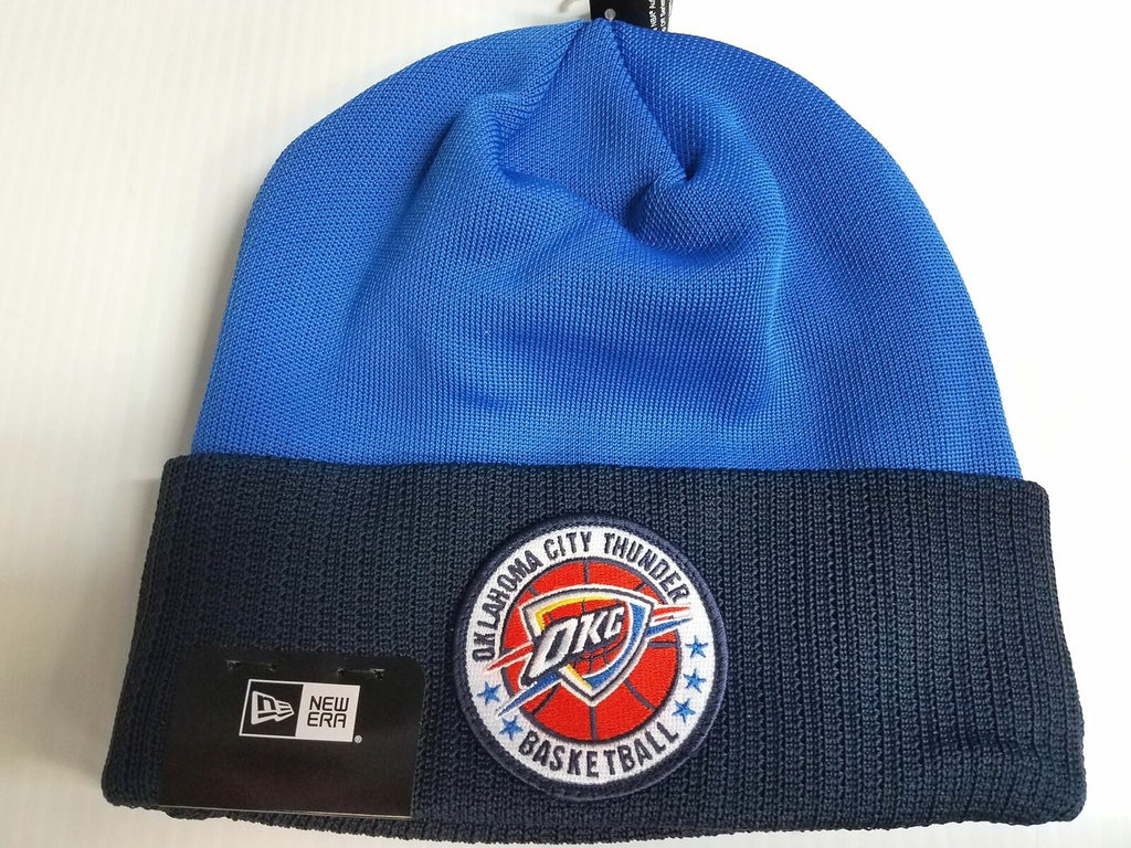 Oklahoma City Thunder New Era Knit Hat 2018 Tipooff Series Beanie Stocking Cap N