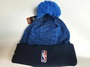 Oklahoma City Thunder New Era Knit Hat Team Color NBA 2017 On Court Beanie Cap