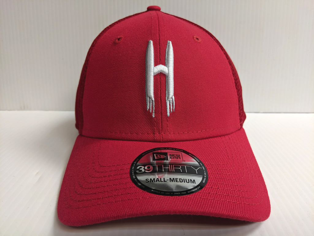 Houston Rockets Cap New Era 39Thirty Stretch Fit Back Half Series Hat NBA