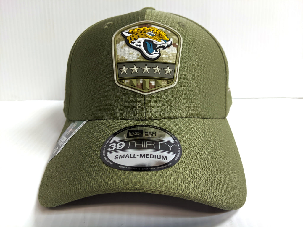 Jacksonville Jaguars Cap Era 39Thirty Stretch Fit 2019 Salute to Service Hat NFL