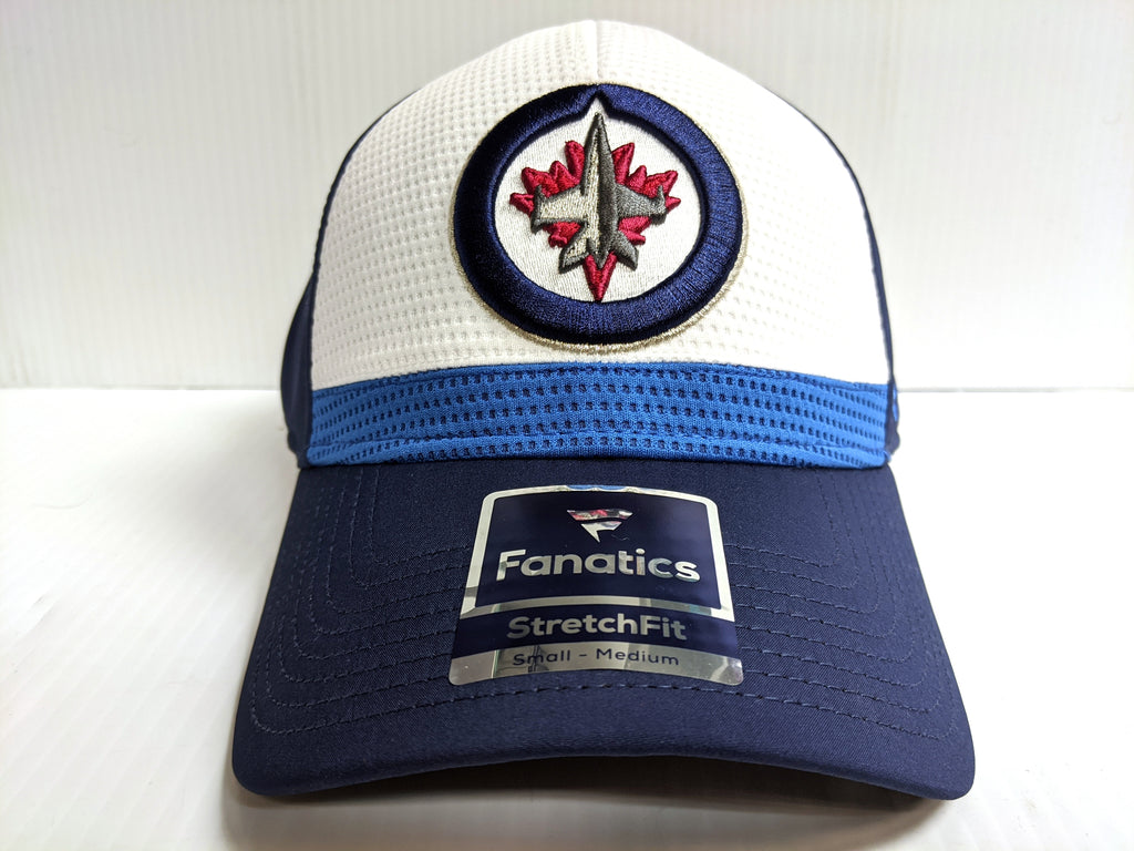 Winnipeg Jets Cap Stretch Fit 2019 Breakaway Current Jersey Flex Hat