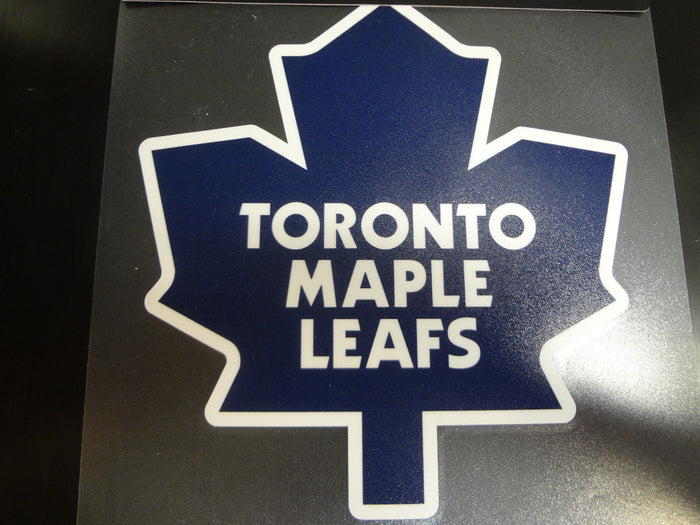 Toronto Maple Leafs Colored Window Die Cut Decal Wincraft Sticker 8x8 NHL