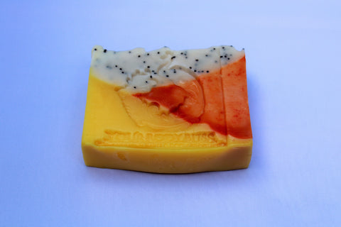 Sweet Orange Chili With Poppy Seeds Bar Soap