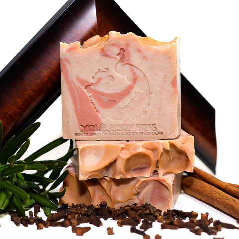 Spiced Mohogany Bar Soap