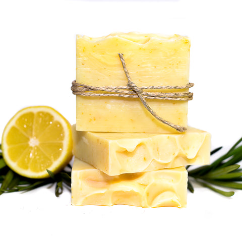 Lemongrass & Rosemary Bar Soap