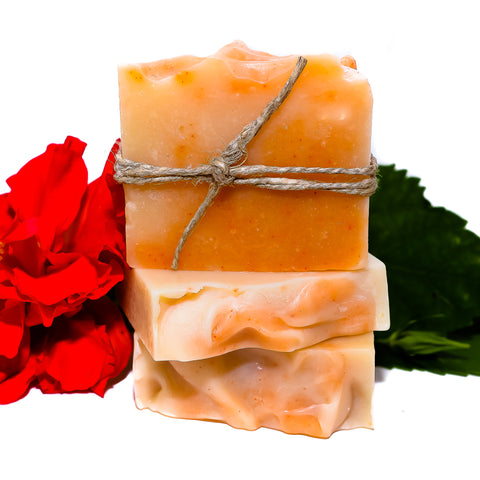 Orange Blossom Goat Milk Bar Soap