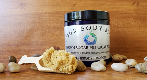 Brown Sugar & Vanilla Sugar Scrub