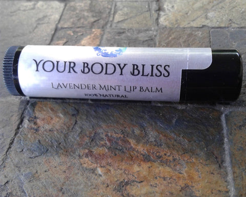 Lavender & Peppermint Lip Balm