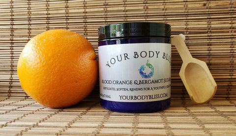 Blood Orange & Bergamot Sugar Scrub