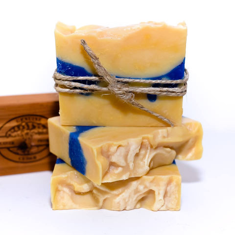 Cedar & Saffron Bar Soap