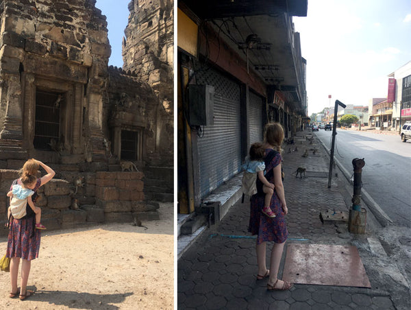 Lopburi with a toddler