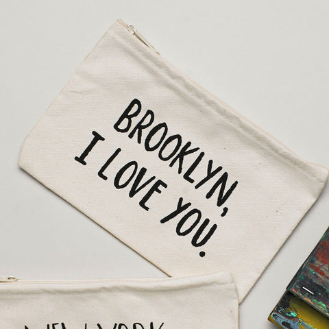 Lovewild Design Brooklyn Zippered Pouch