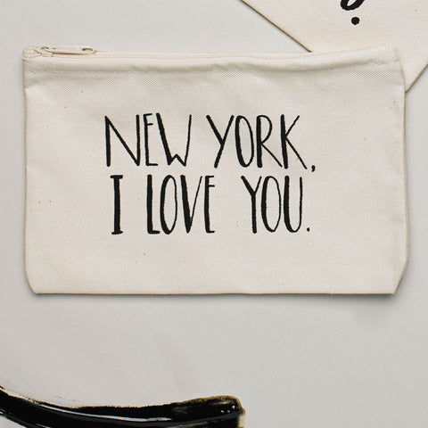 Lovewild Design New York Zippered Pouch