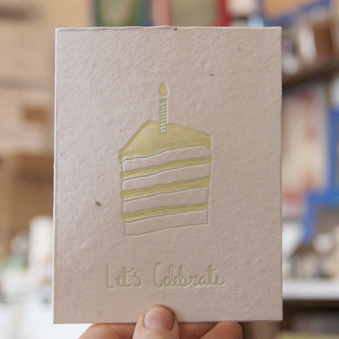 Lovewild Design Plantable Birthday Card
