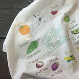 Lovewild Design Pregnancy Kitchen Towel Growing Belly