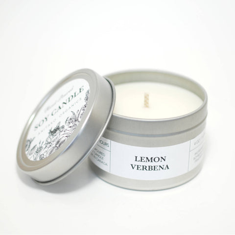 White Gardenia Travel Candle