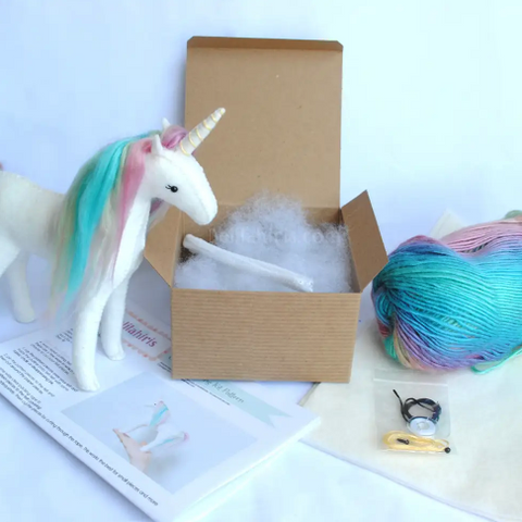 Rainbow Unicorn Sewing Kit