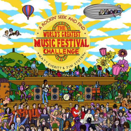 The World's Greatest Music Festival Challenge: A Rockin' Seek and Find