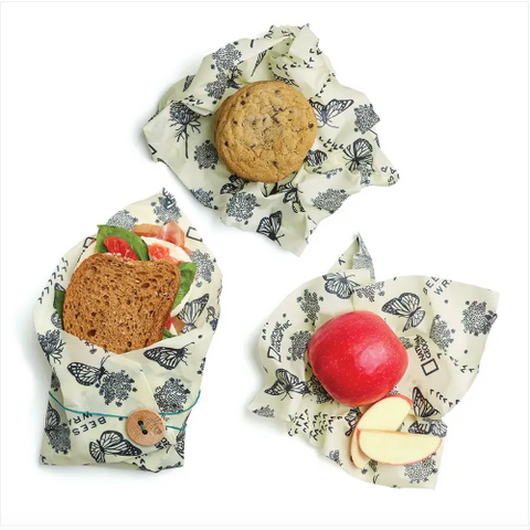 3 Beeswax Wraps Explorer Pack