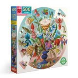 Bug Bouquet 500 Piece Round Puzzle
