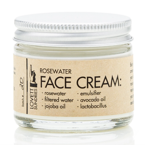 Rosewater Facecream