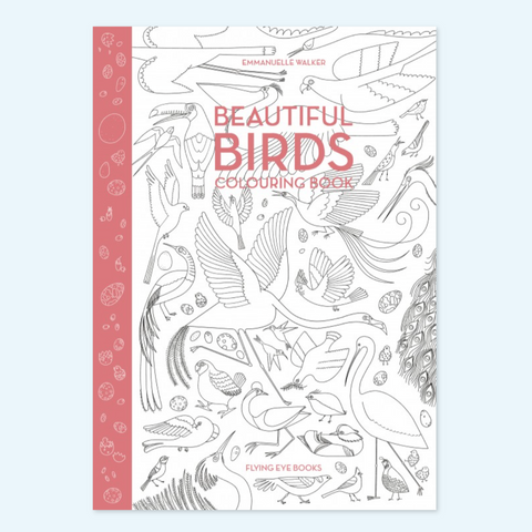 Beautiful Birds Coloring Birds