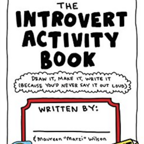 The Introvert Activity Book