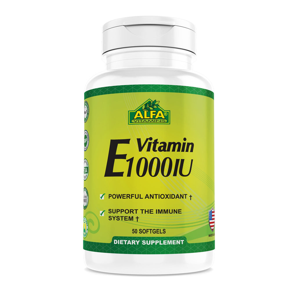 VITAMINA E 1000iu 50 SOFTGEL
