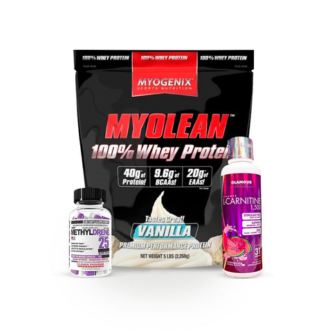 KIT MYOGENIX WHEY/METYLDRENE/L-CARNITINA
