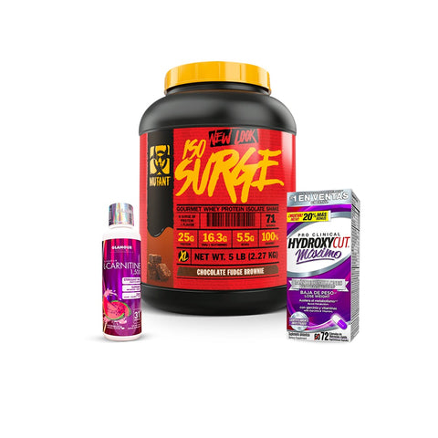 KIT ISOSURGE/HYDROXYCUT/L-CARNITINA