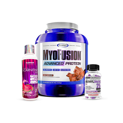 KIT MYOFUSION/METYLDRENE/L-CARNITINA