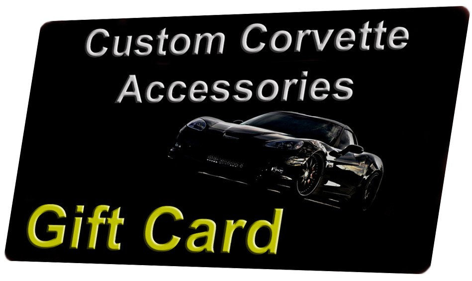 Corvette Accessories Gift Cards