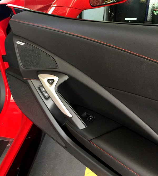 C7 Corvette Grand Sport Red Stitching