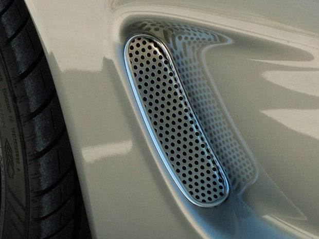 032015 C5 Corvette Perforated Side Vent Grilles