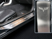 C6 Corvette American Car Craft Door Sill Guard - Corvette