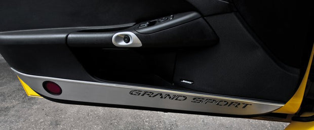 041049 C6 Corvette Grand Sport Lower Door Protectors