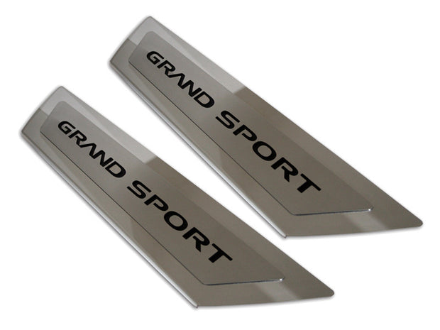 041052 C6 Corvette Grand Sport Door Sill Plates