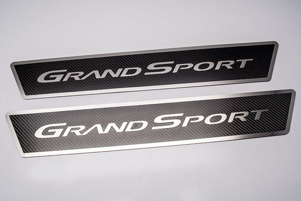 041060 C6 Corvette Grand Sport Kick Plates door sill