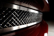 042041 laser mesh front grille for the c6 corvette
