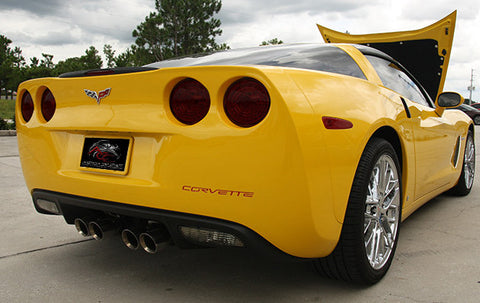 042072 C6 Corvette Tail Ight Blackout kit