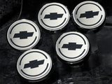043096 C5 Corvette Engine Caps Bowtie Logo