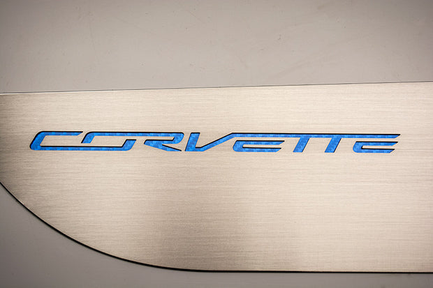 051001 Blue Corvette Door Guards from American Car Craft