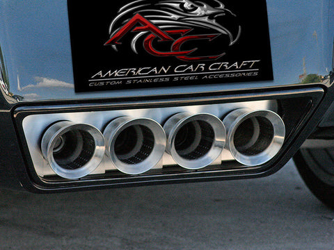 052001 Exhaust Plate from american car craft c7 corvette and z06